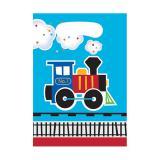 """8 pochettes cadeaux """"Petit train coloré"""""""