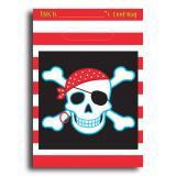 """8 pochettes surprises """"Fête de pirates"""""""