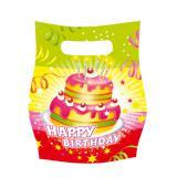 "6 pochettes surprises ""Gâteau Happy Birthday"""