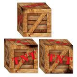 """Boîtes en carton """"Dynamite"""" 3 pcs."""