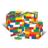 """3 boîtes cadeaux """"Briques hautes en couleur"""""""