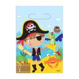 """8 pochettes surprises """"Petit pirate courageux"""""""