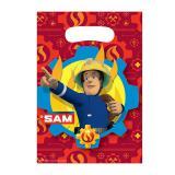 """8 pochettes surprises """"Sam le pompier courageux"""""""