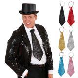 Cravate à paillettes 40 cm