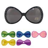 """Grosses lunettes """"Années 70 - Diamond"""" 16,5 cm"""