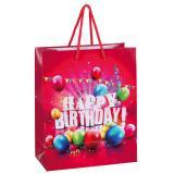 """Sac pour cadeaux """"Bel anniversaire"""" 22 cm"""