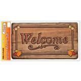 "Gros autocollant ""Welcome"" 51 cm"
