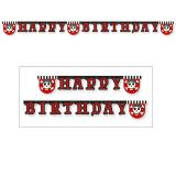 "Guirlande Happy Birthday ""L'aventure pirate"" 2 m"