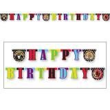 "Guirlande Happy Birthday ""Les Muppets"" 1,9 m"