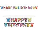 """Guirlande Happy Birthday """"Furby"""" 180 cm"""
