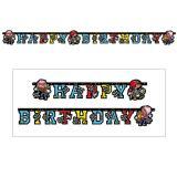 "Guirlande Happy Birthday ""Petit pirate"" 180 cm"