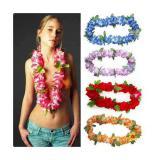 Collier à fleurs Hawaï Deluxe