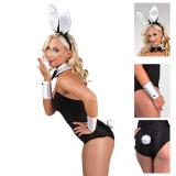 Costume de lapine sexy 4 pcs