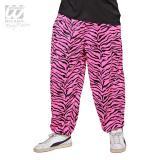 """Pantalon pour homme """"80's Baggy Pants Pink Zebra"""""""