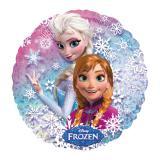 """Ballon en alu holographique """"La reine des neiges - Elsa et Anna"""" 45 cm"""