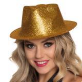 """Chapeau """"Paillettes"""" - doré"""