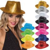 """Chapeau """"Paillettes"""" - turquoise"""