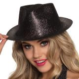 """Chapeau """"Paillettes"""" - noir"""