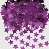 """Confettis """"Étoiles unicolores"""" 14 g - lilas"""