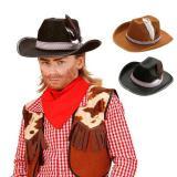 Chapeau de cowboy pour enfant avec plume