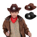 """Chapeau de Cowboy pour enfant """"Shérif"""""""