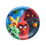 """8 petites assiettes en carton """"Angry Birds -  Le film"""""""