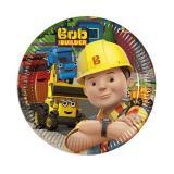 """8 petites assiettes en carton """"Bob le bricoleur - Nouvelles aventures"""""""