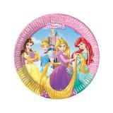 """8 petites assiettes en carton """"Disney - Jolies princesses"""""""
