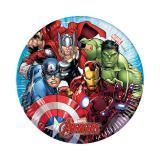 """Kleine Pappteller """"Mächtige Avengers"""" 8er Pack"""