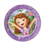 """8 petites assiettes en carton """"Princesse Sofia - Les îles mystérieuses"""""""
