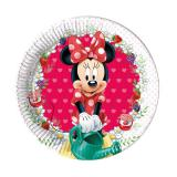 """8 petites assiettes en carton """"Adorable Minnie Mouse"""""""