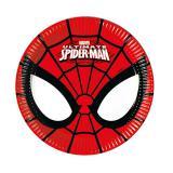 """8 petites assiettes en carton """"Ultimate Spider-Man"""""""