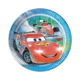 """8 petites assiettes """"Course folle - Cars"""""""