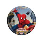 "8 petites assiettes en carton ""Spider-Man - Web Warriors"""
