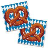 "20 petites serviettes ""Bretzel bavarois"""