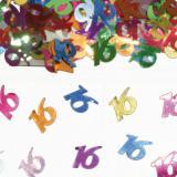"""Confettis """"16 Ans"""" 15 gr"""