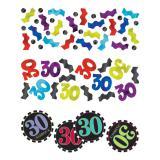 """Confettis """"30 ans - Zigzag"""" 34 g"""