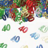 """Confettis """"40 Ans"""" 15 g"""