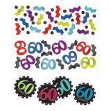 """Confettis """"60 ans - Zigzag"""" 34 g"""