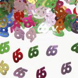 """Confettis """"65 ans"""" 14 g"""
