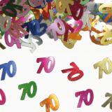 """Confettis """" 70 ans"""" 15 g"""