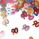 """Confettis """"90 ans"""" 15 g"""