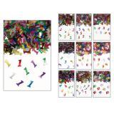 """Confettis d'anniversaire """"Chiffres multicolores"""" 14 g"""