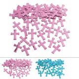 """Confettis """"Croix de couleur"""" 14 g"""