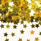 """Confettis """"Étoiles dorées"""" 14 g"""