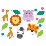 """Confettis """"Adorables animaux de la jungle"""" 14 g"""