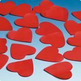 """Confettis """"Cœurs rouges"""" 50 g"""