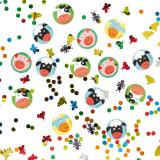 """Lot de confettis """"La ferme enchantée"""" 34 g"""