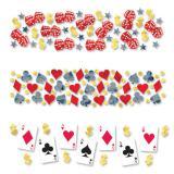 """Set de confettis """"Las Vegas"""" 3 pcs 34 g"""
