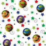 """Set de confettis """"Tortues Ninja"""" 3 pcs 34 g"""